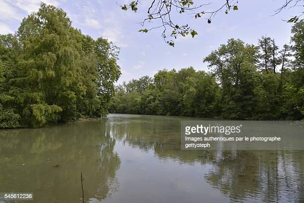 The charente River trough wild nature