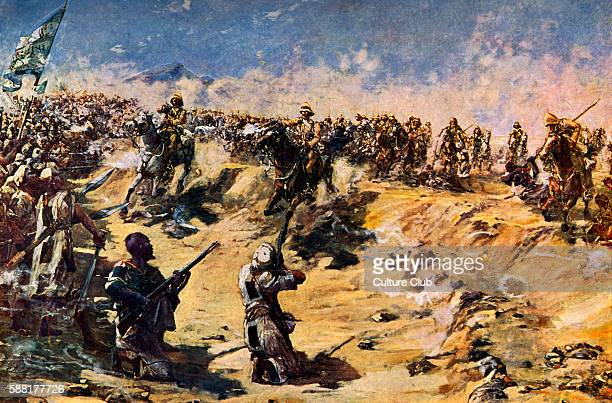 The Charge of the 21st Lancers at Omdurman 1898 During the Mahdist War