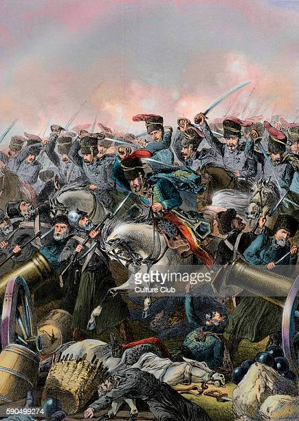 The charge of the light brigade at Balaclava led by Lord Cardigan during the Battle of Balaclava on 25 October 1854 in the Crimean War. Mentioned in...