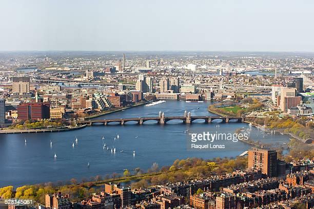 the charles river between boston and cambridge - cambridge massachusetts stock pictures, royalty-free photos & images