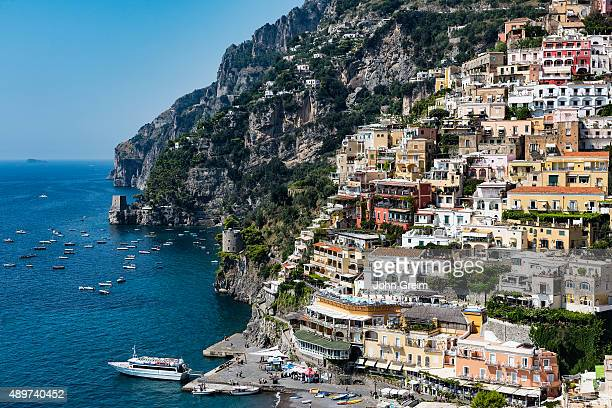 The charming coastal resort village of Positano