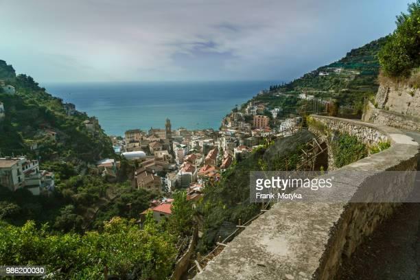 the charming town of Minori, Italy (near Amalfi)