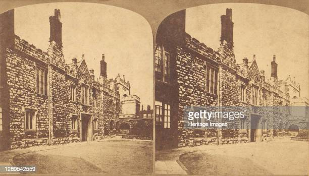 The Charterhouse, 1850s-1910s. Artist Unknown.