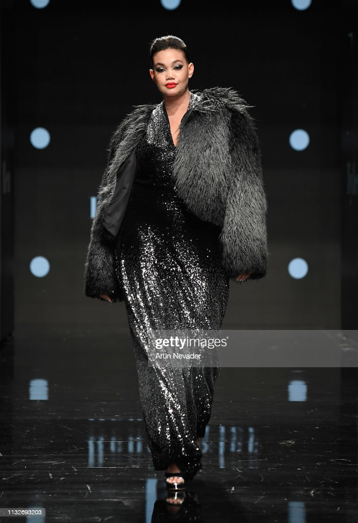 CA: Rene Tyler Plus Size at Los Angeles Fashion Week FW/19 Powered by Art Hearts Fashion