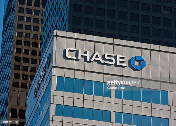 The Chase Bank tower in downtown is viewed on January 27 2012 in Los Angeles California Over the past 20 years the downtown area has experienced a...