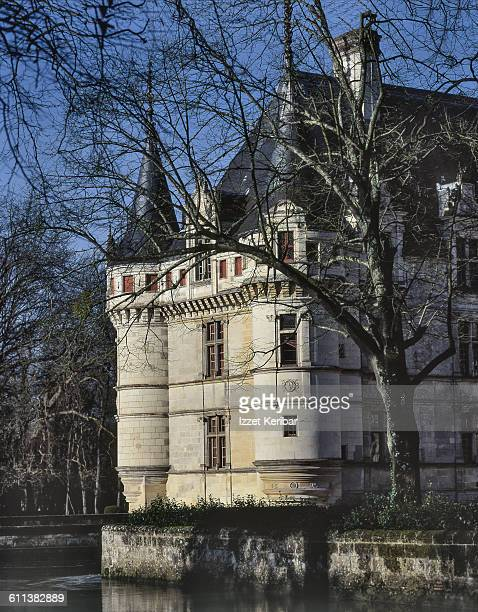 The Chateau Azay-le-Rideau Loire Valley in france