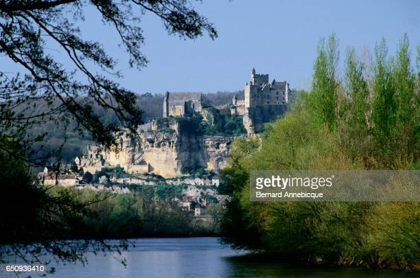 The Chateau de Beynac sits atop an outcrop in the Dordogne Department