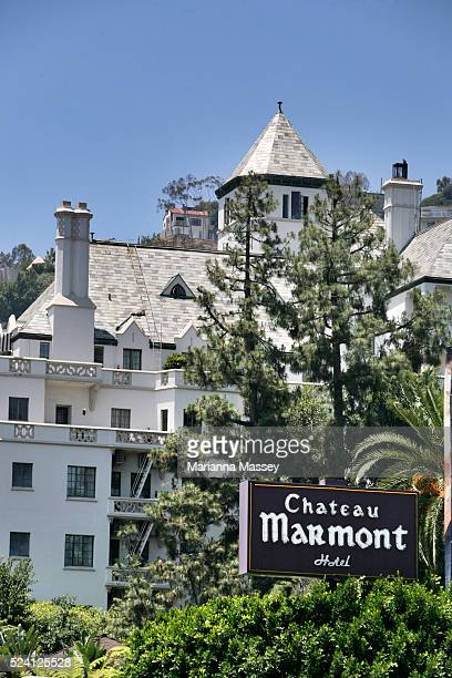 The Chateau Marmont Hotel in Hollywood