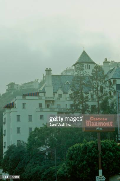 The Chateau Marmont Hotel on Sunset Boulevard in West Hollywood California 11th July 1991