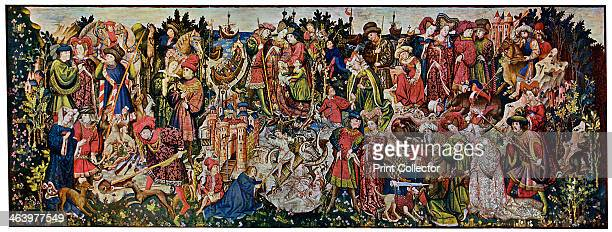 The Chatsworth Hunting Tapestries first of the series 15th century Formerly at Hardwick Hall Derbyshire then Chatsworth House now in the Victoria and...
