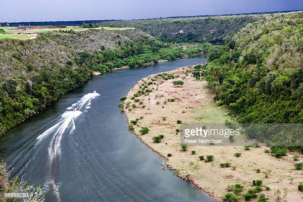 The Chavon river