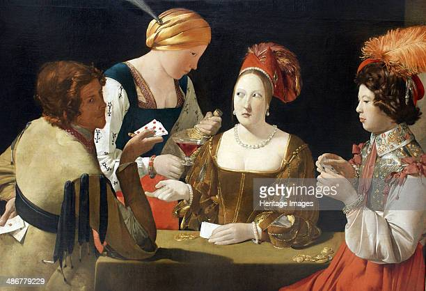 The Cheat with the Ace of Diamonds c 1635 Artist La Tour Georges de