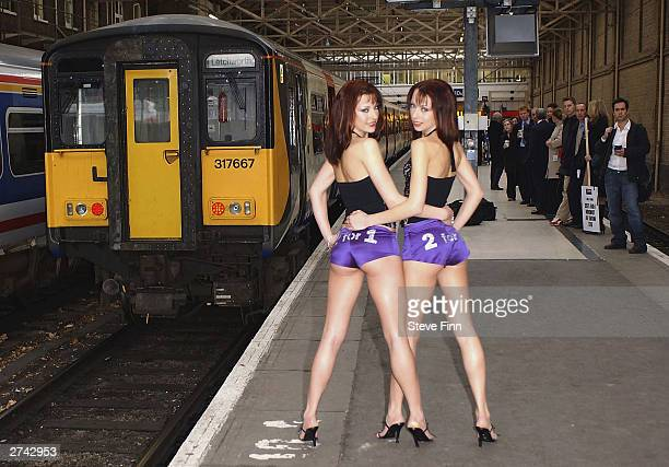 The Cheeky Girls promote an initiative encouraging travellers to switch to rail travel by offering 2 for 1 entry to tourist attractions on November...