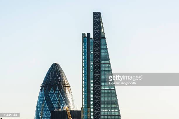 The Cheesegrater and the gerkin buildings
