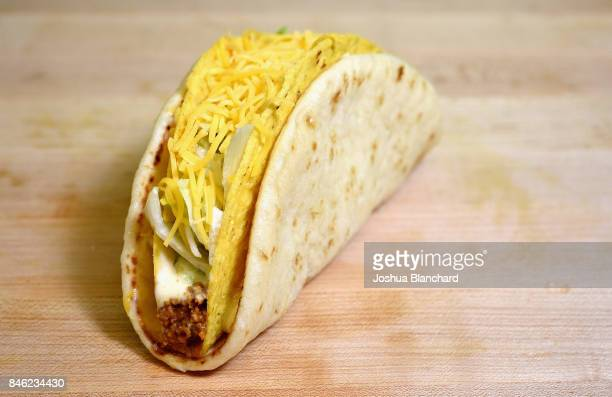 The Cheesy Gordita Crunch is a mainstay on Taco Bell menus