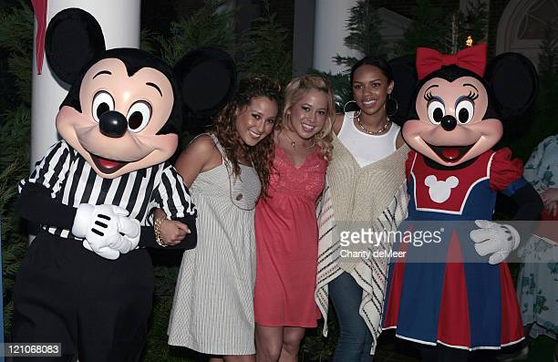 The Cheetah Girls during Disney Channel All Star Party 2007 in Orlando Florida United States