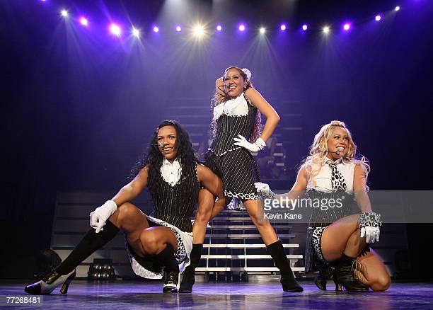 The Cheetah Girls in concert at the Nassau Veterans Memorial Coliseum, Uniondale, N.Y. December 21, 2006