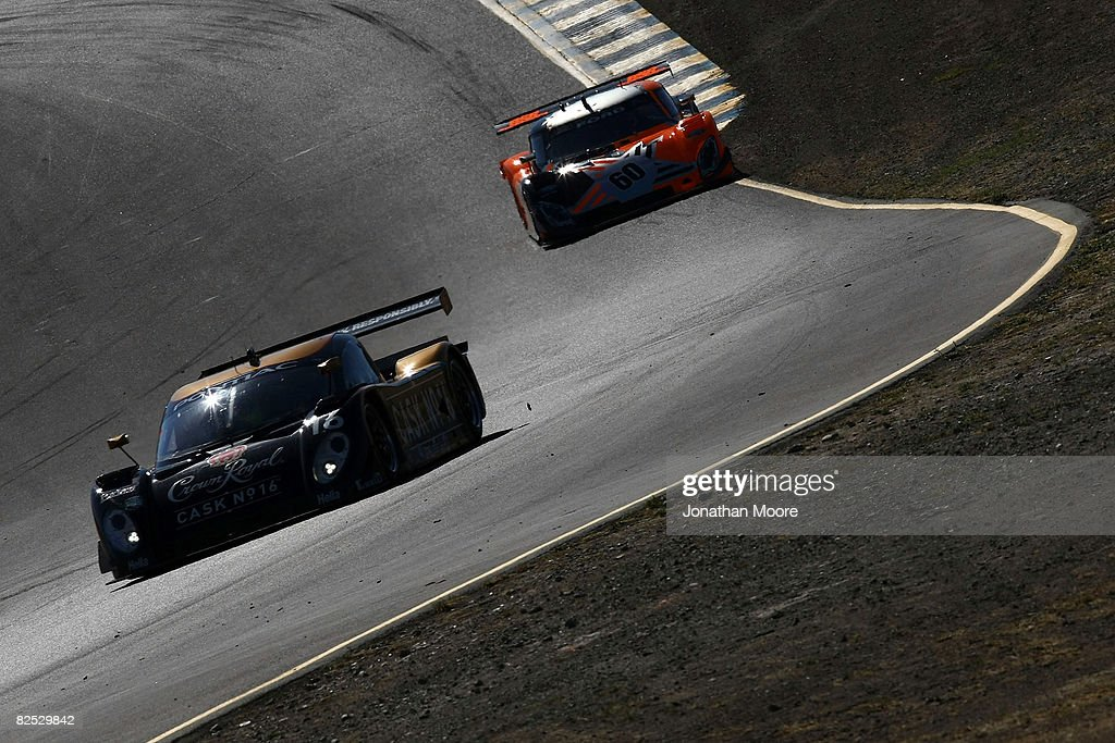 The #16 Cheever Racing Pontiac Coyote Driven By Christian Fittipaldi And  Antonio Garcia During The