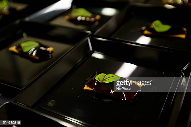 The chef Andre Chiang Restaurant Andreduring the congress 'San Sebastian Gastronomika' in San Sebastian on 6 October 2015 San Sebastian Gastronomika...