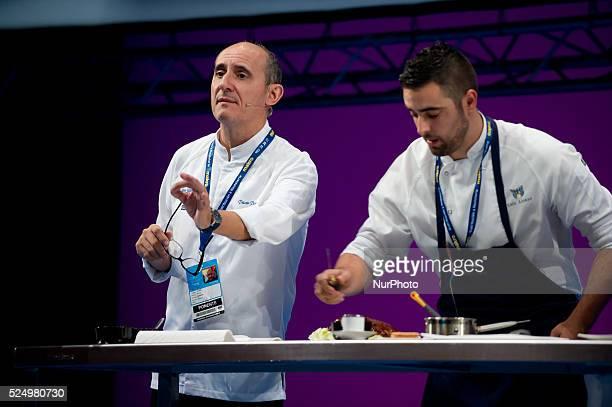 The chef Paco Perez Restaurant La Royaleduring the congress 'San Sebastian Gastronomika' in San Sebastian on 6 October 2015 San Sebastian...