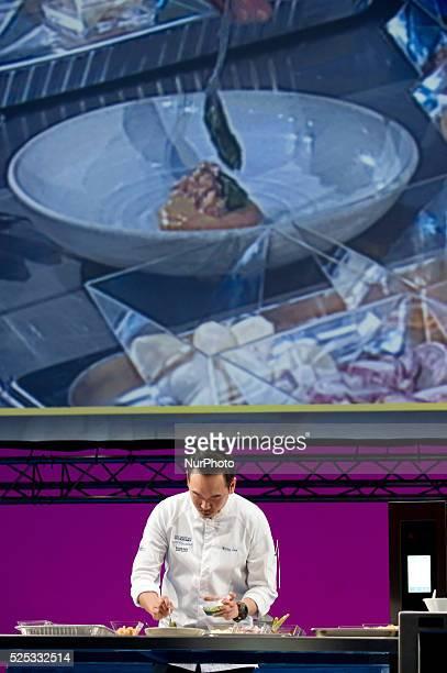 The chef Willin Low Restaurant Wild Rocket during the congress 'San Sebastian Gastronomika' in San Sebastian on 7 October 2015 San Sebastian...