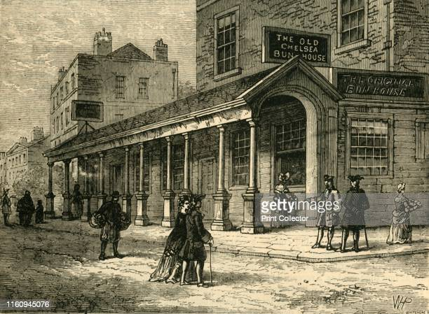 The Chelsea BunHouse 1810' The Chelsea Bun House sold Chelsea buns and hot cross buns at Easter with patronage of Kings George II George III and...
