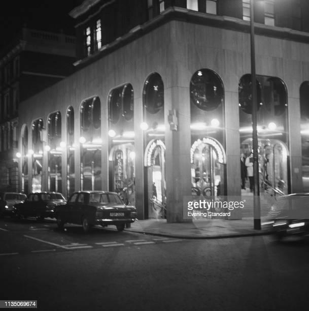 The Chelsea Drugstore on King's Road, London, UK, 17th April 1969.