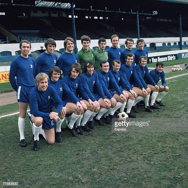 The Chelsea FC team for the 1969/1970 season circa 1970