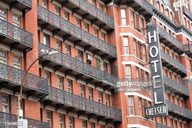 The Chelsea Hotel is closed during the coronavirus pandemic on May 22, 2020 in New York City. COVID-19 has spread to most countries around the world,...