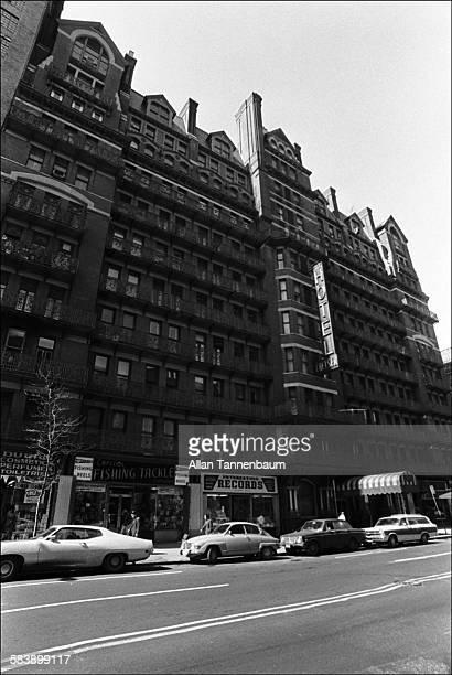 The Chelsea Hotel , Newark, New York, April 4, 1974.