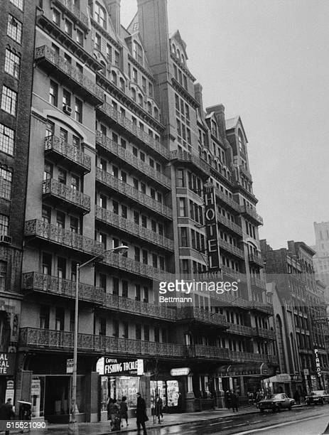 The Chelsea Hotel on New York City's West 23rd Street loves its past It if filled with memories of writers and artists who lived and worked there...