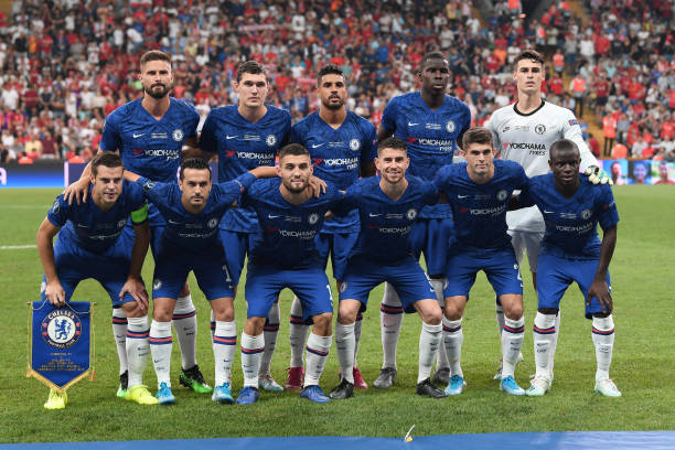 SUPER COUPE EUROPE UEFA 2019 The-chelsea-players-pose-for-a-team-photo-prior-to-the-uefa-super-cup-picture-id1168040834?k=6&m=1168040834&s=612x612&w=0&h=2ZCkLid_W5c29ufTR29C4xF2reU8V8DiV4K1960T3QY=