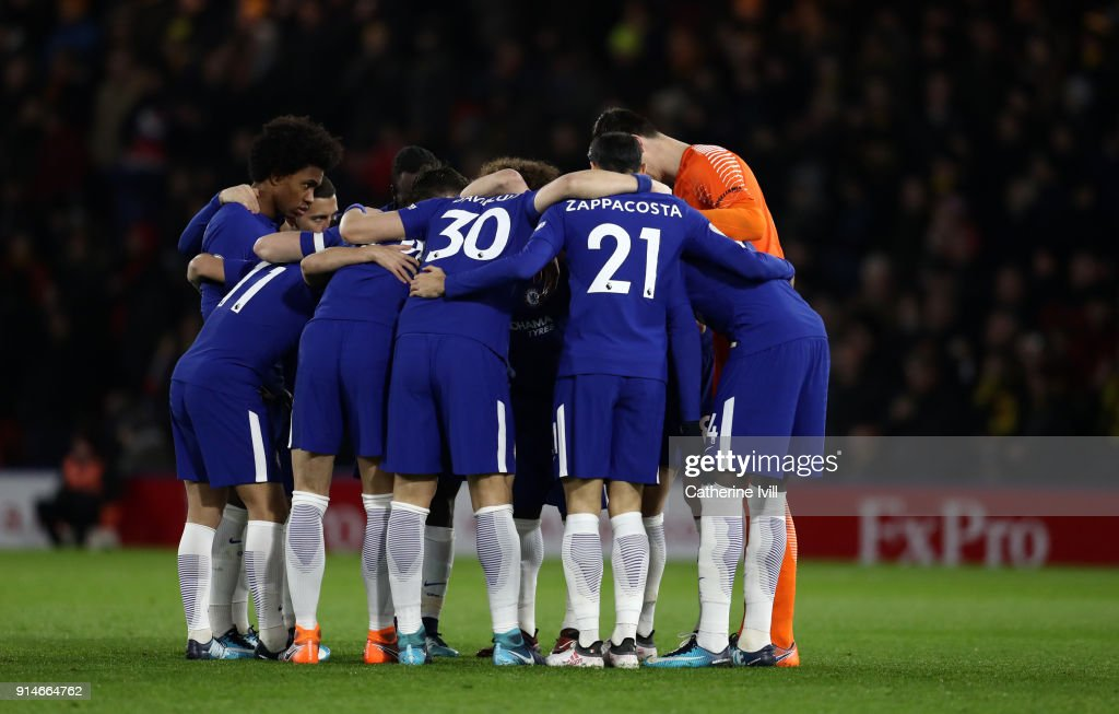 Watford v Chelsea - Premier League : News Photo