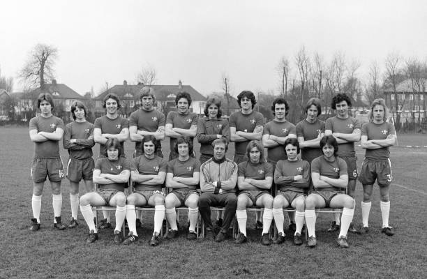 The Chelsea Youth Squad, circa October 1974. Back row : Lee Templeman, Francis Cowley, John Sparrow, Steve Wicks, Tommy Langley, John Jacobs, Trevor...