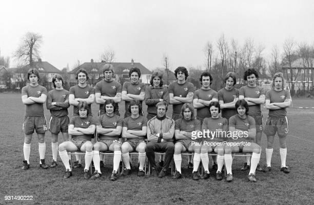The Chelsea Youth Squad circa October 1974 Back row Lee Templeman Francis Cowley John Sparrow Steve Wicks Tommy Langley John Jacobs Trevor Aylott...