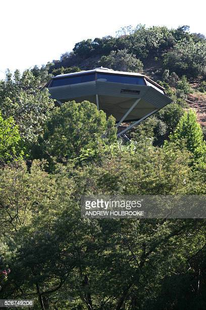 The Chemosphere House designed by the architect John Lautner was his first residential project and was built for Nouard Gootgeld