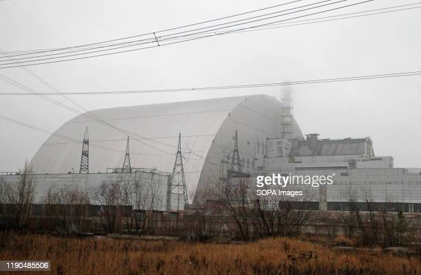 The Chernobyl Nuclear Power Plant is seen at the Chernobyl Exclusion Zone in Kiev region Ukraine The Chernobyl nuclear accident on April 26 1986 is...