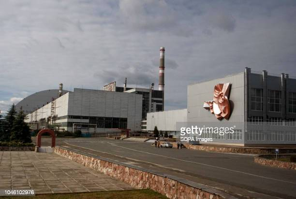 The Chernobyl Nuclear Power Plant is seen at the Chernobyl Solar Chernobyl power plant has about 16000 square meters of 3800 solar panels expected to...