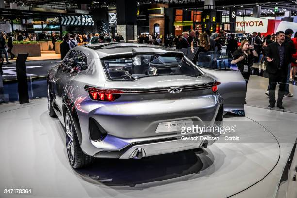 The Chery Tiggo Coupe Concept on display at the 2017 Frankfurt Auto Show 'Internationale Automobil Ausstellung' on September 13 2017 in Frankfurt am...