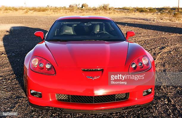 The Chevrolet Corvette Z06 is photographed in Bouse Arizona Saturday Feb 17 2007