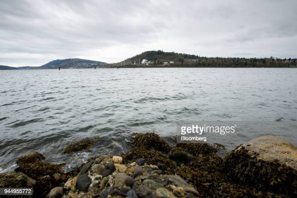 The Chevron Corp oil refinery is pictured across from the Burrard Inlet in Burnaby British Columbia Canada on Wednesday April 11 2018 Alberta the...