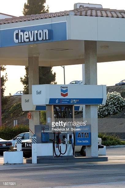 The Chevron gas station where Matthew Michael Ansara was found dead in his car June 25th is open for business June 26 2001 in Monrovia CA Ansara was...