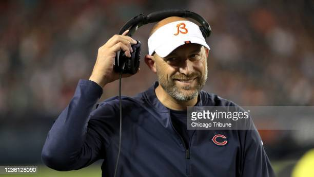 The Chicago Bears named Matt Nagy the 16th coach in team history on Jan. 8 after he spent five seasons as quarterbacks coach and then offensive...