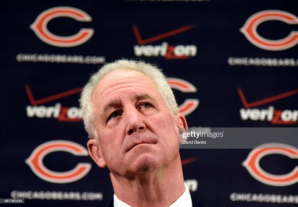 Chicago Bears Introduce John Fox