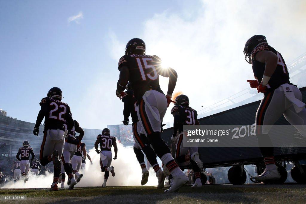 Green Bay Packers v Chicago Bears : Foto jornalística
