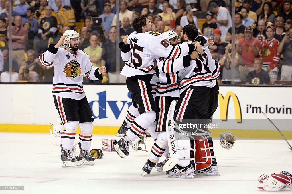 2013 NHL Stanley Cup Final - Game Six : News Photo
