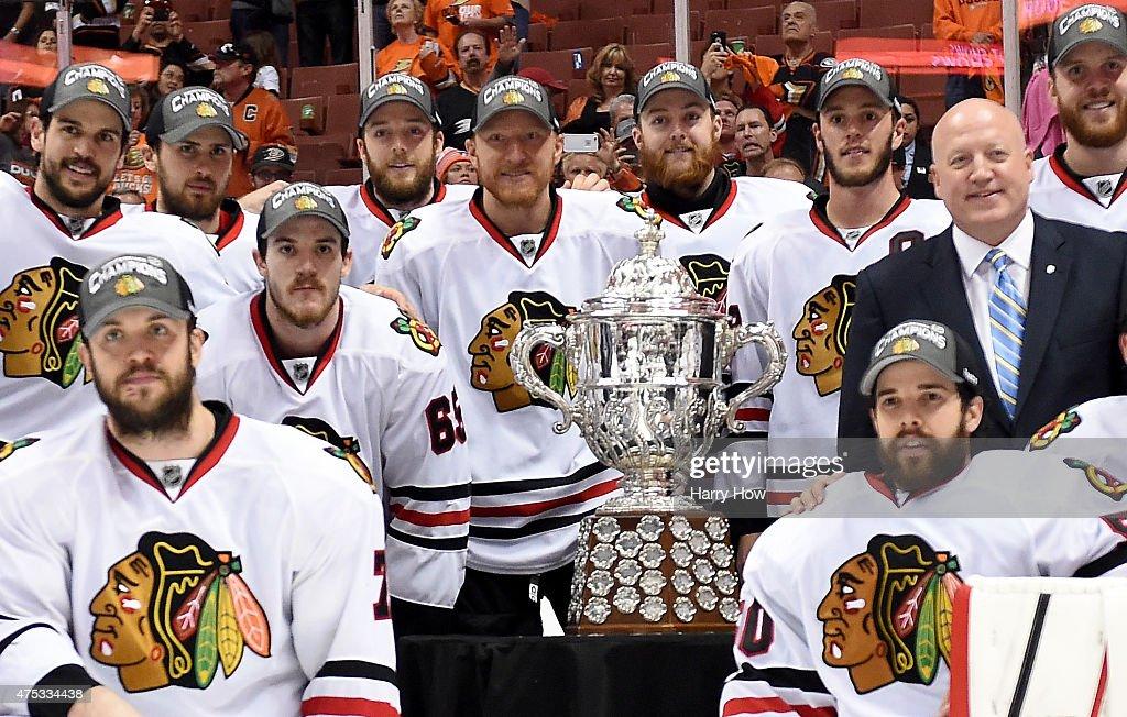 Chicago Blackhawks v Anaheim Ducks - Game Seven : News Photo