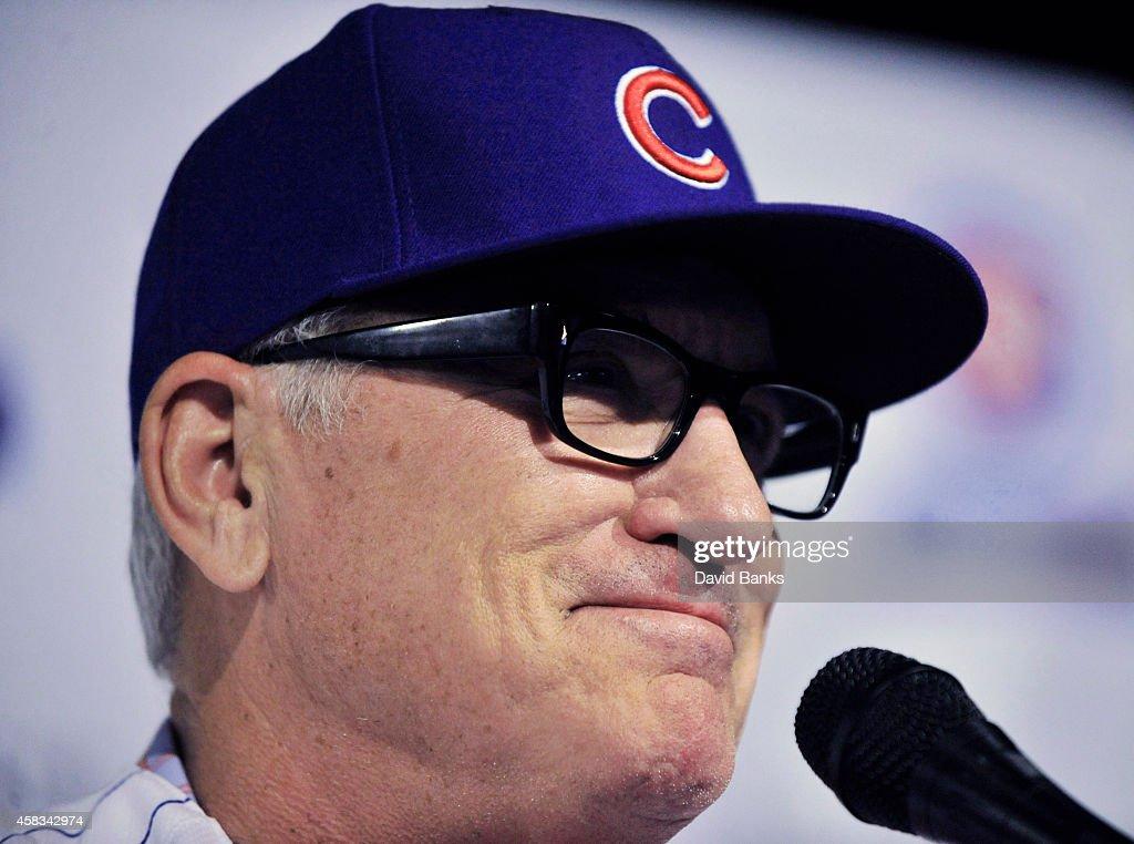 Chicago Cubs Introduce Joe Maddon : News Photo