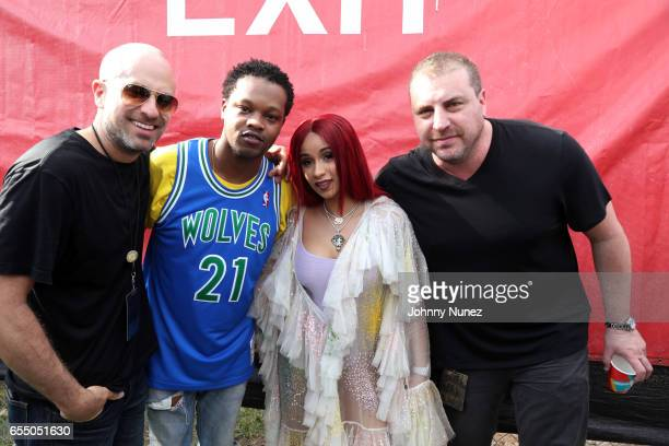 J The Chicago Kid Cardi B and Rob Stone attend Day 9 of the 2017 SXSW Conference And Festivals on March 18 2017 in Austin Texas