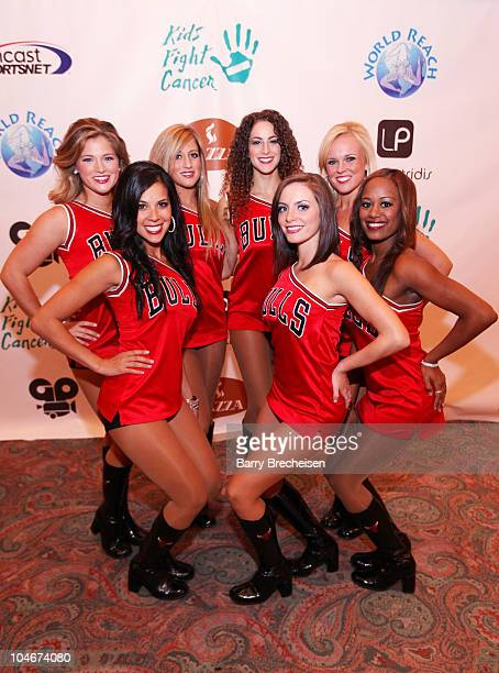 The Chicago Luvabulls attend the 26th Anniversary Kids Fight Cancer Fall Gala at Donald E Stephens Grand Ballroom on October 2 2010 in Rosemont...